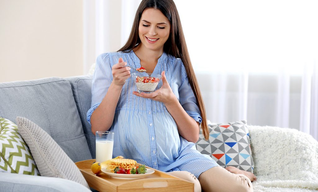 Eating healthy - Natalis make a positive difference for you & your baby